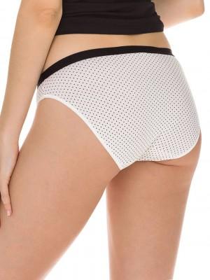 DIM Γυναικεία Σλιπς Les Pockets Cotton - Βαμβακερά - Πακέτο με 3 - 4V5