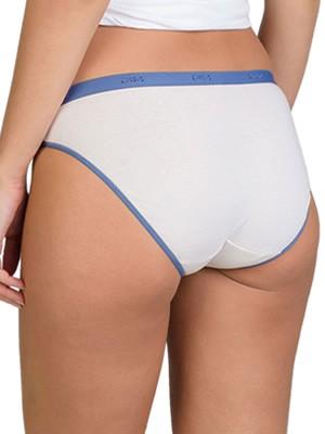 DIM Γυναικεία Σλιπς Les Pockets Cotton 5UK - Βαμβακερά - Πακέτο με 3
