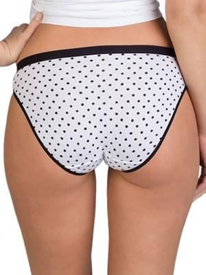 DIM Γυναικεία Σλιπς Les Pockets Cotton 5UL - Βαμβακερά - Πακέτο με 3