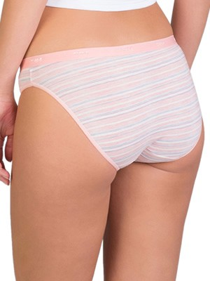 DIM Γυναικεία Σλιπς Les Pockets Cotton - Βαμβακερά - Πακέτο με 3 5UN