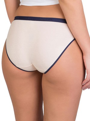 DIM Γυναικεία Σλιπς Les Pockets Cotton - Βαμβακερά - Πακέτο με 3 6LX