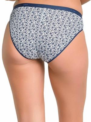 DIM Γυναικεία Σλιπς Les Pockets Cotton 84J - Βαμβακερά - Πακέτο με 3