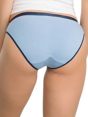 DIM Γυναικεία Σλιπς Les Pockets Cotton 84M - Βαμβακερά - Πακέτο με 3