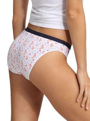 DIM Γυναικεία Σλιπς Les Pockets Cotton 8YL - Βαμβακερά - Πακέτο με 3