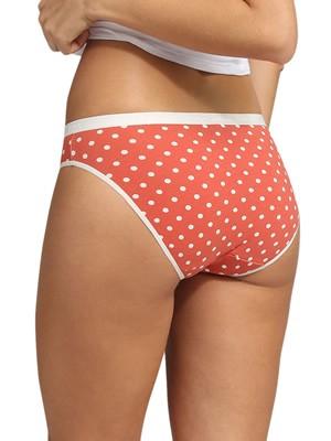 DIM Γυναικεία Σλιπς Les Pockets Cotton 8ZG - Βαμβακερά - Πακέτο με 3