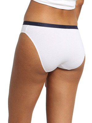 DIM Γυναικεία Σλιπς Les Pockets Cotton 9JN - Βαμβακερά - Πακέτο με 3 - Χειμώνας 2020/21