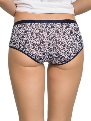 DIM Γυναικεία Boxers Les Pockets Cotton 8PD - Βαμβακερά - Πακέτο με 3