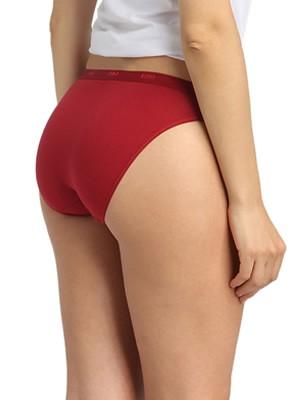 DIM Γυναικεία Σλιπς Les Pockets Cotton 9KZ - Βαμβακερά - Πακέτο με 3 - Χειμώνας 2020/21