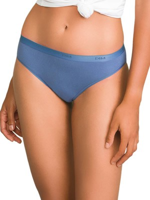 DIM Γυναικεία Σλιπς Les Pockets Cotton 8PT - Βαμβακερά - Πακέτο με 3 - Χειμώνας 2019/20