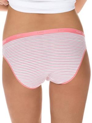 DIM Γυναικεία Σλιπς Les Pockets Coton - Βαμβακερά - Πακέτο με 3 5HJ