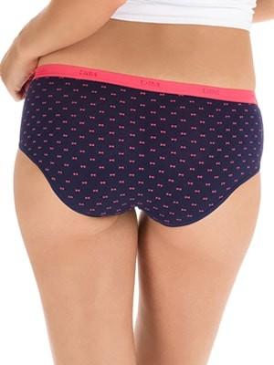 DIM Γυναικεία Boxers Les Pockets Cotton - Βαμβακερά - Πακέτο με 3 5MM