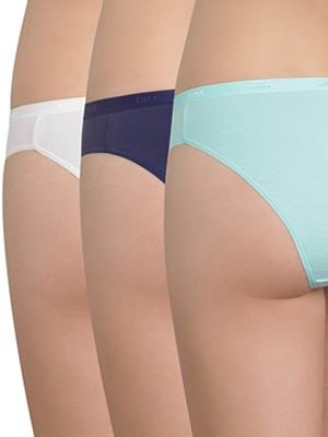 DIM Γυναικεία Tai Slips Les Pockets Coton - Βαμβακερά - Πακέτο με 3