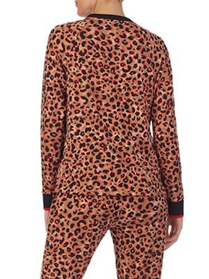 Πυτζάμα Πολυτελείας DKNY - Super Απαλή - Animal Print - Χειμώνας 2020/21
