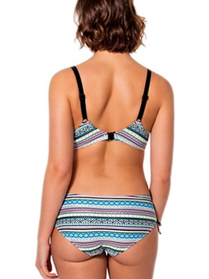 Set Μαγιό DORINA Long Beach - Bra για Μεγάλο Στήθος + Bikini Κανονικό Φαρδύ - Καλοκαίρι 2019