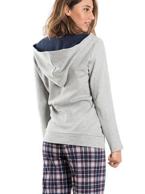 Πυτζάμα ΓΙΩΤΑ Homewear - Γεμάτο Βαμβάκι - Καρό Παντελόνι - Χειμώνας 2019/20