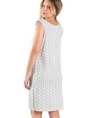 Νυχτικό ΓΙΩΤΑ Homewear - 100% Βαμβακερό - Δαντέλα & Κουμπιά - Καλοκαίρι 2020
