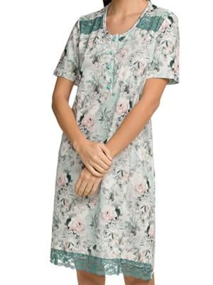 Νυχτικό ΓΙΩΤΑ Homewear - 100% Βαμβακερό - Floral Σχέδιο - Καλοκαίρι 2021