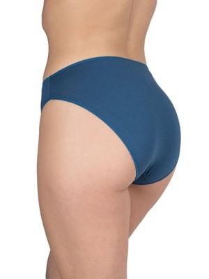 Σλιπ Bikini Κανονικό GKAPETANIS Soft Touch - Φαρδύ & Ψηλό - Απαλό Modal & Βαμβάκι - 2 Τεμάχια