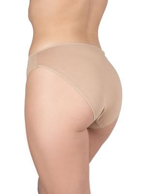 Σλιπ Bikini Κανονικό GKAPETANIS Soft Touch - Φαρδύ Ψηλό - Απαλό Modal Βαμβάκι - 2 Τεμάχια