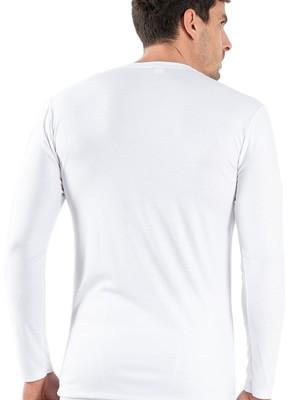 GKAPETANIS Ανδρική Ισοθερμική Μπλούζα με Μακρύ Μανίκι