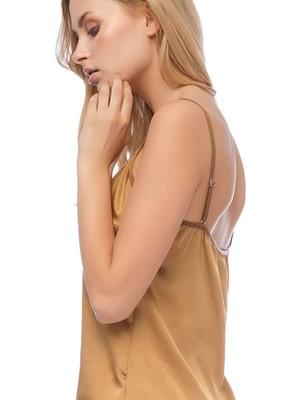 Γυναικείο Top GOSSIP 859 - Aπαλό  Σατέν & Δαντέλα - Smart Choice FW20/21