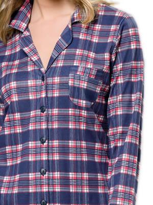 Πυτζάμα Γυναικεία HARMONY - 100% Βαμβακερή - Κουμπιά - Χειμώνας 2021/22