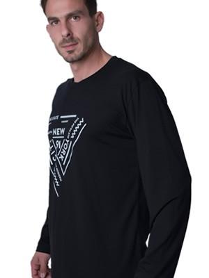 Ανδρική Μπλούζα Homewear Harmony - 100% Βαμβακερή - - Hot Pick FW19/20