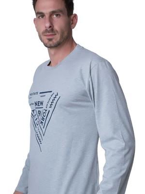 Ανδρική Μπλούζα Homewear Harmony - 100% Βαμβακερή - Hot Pick FW19/20