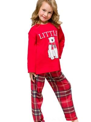 Πυτζάμα Παιδική HARMONY - 100% Βαμβακερή - Καρό Παντελόνι - Χειμώνας 2021/22