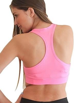 Hyper Γυναικείο Μπουστάκι Aθλητικό - Σχήμα Χ Πίσω - Γυαλιστερό -  Απαλό