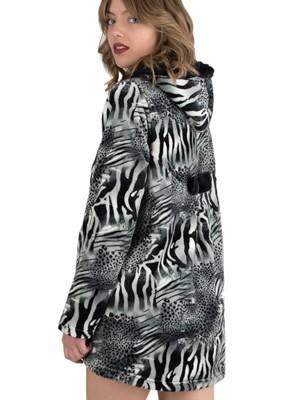 Ρόμπα Πολυτελείας Kare Fleece - Τσέπες & Κουκούλα - Animal Σχέδιο - Χειμώνας 2018/19