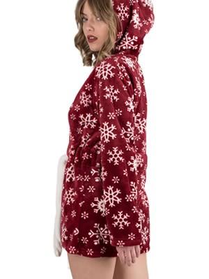 Ρόμπα Πολυτελείας Kare - Ζεστό & Απαλό Fleece - Animal Σχέδιο - 18/19