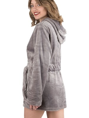 Ρόμπα Πολυτελείας Kare - Ζεστό & Απαλό Fleece - Κουκούλα