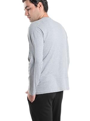 Ανδρική Πυτζάμα Homewear KARE - 100% Βαμβακερή & Κουμπιά - Χειμώνας 2019/20