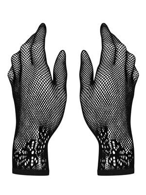 Obsessive Γάντια LUSTELLA - Δαντελένιο Σχέδιο Κέντημα