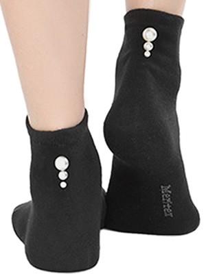 Γυναικεία Βαμβακερή Κάλτσα Meritex - Σχέδιο Πέρλες