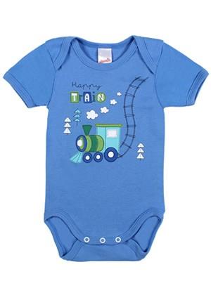 Βρεφικά Κορμάκια MINERVA για αγόρι Little Pilot - 100% Βαμβάκι - Σετ 4 Τεμαχίων
