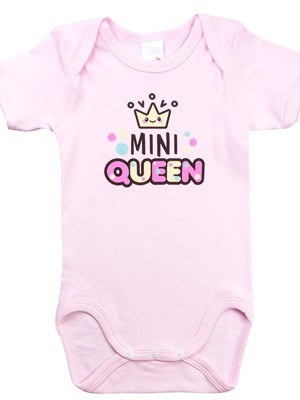Βρεφικά Κορμάκια MINERVA για κορίτσι Queen - Bear - 100% Αγνό Βαμβάκι - 3 Pack - Χειμώνας 2020/21