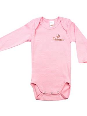 Βρεφικά Κορμάκια MINERVA για κορίτσι Princess - 100% Αγνό Βαμβάκι - 2 Pack - Χειμώνας 2020/21