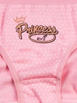 Παιδικό-Εφηβικό Σλιπ MINERVA Princess Dots - 100% Αγνό Βαμβάκι - Χειμώνας 2020/21