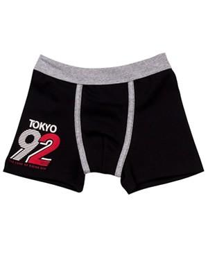 Παιδικό-Εφηβικό Boxer MINERVA Osaka Tigers - Αγνό Βαμβάκι - Κατά των Ερεθισμών - 2 PACK