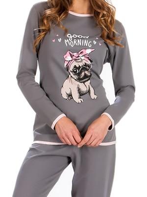 Πυτζάμα Γυναικεία Minerva Bulldog - 100% Βαμβάκι Interlock - Χειμώνας 2018/19