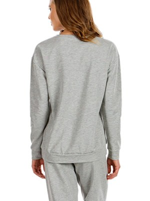 MINERVA Πυτζάμα Γυναικεία Φούτερ Fluo Dots - Extra Ζεστή - Sport Look - Hot Pick 19/20