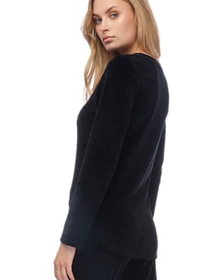 MINERVA Γυναικεία Πυτζάμα Elle - Απαλό Βελούδο - Smart Choice FW20/21