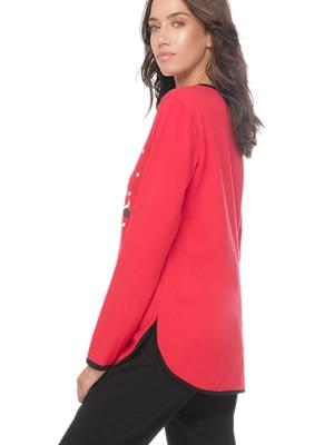 Πυτζάμα Γυναικεία MINERVA Sweet X-MAS - 100% Βαμβάκι Interlock - Χειμώνας 2019/20