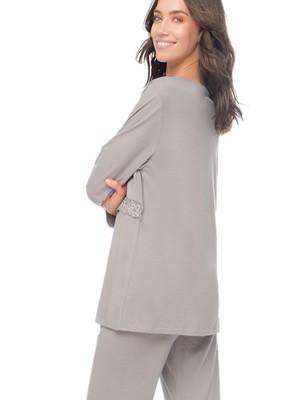 Πυτζάμα Γυναικεία MINERVA - Απαλό Βαμβάκι Modal - Νέα Μαμά - Stay Home 2020