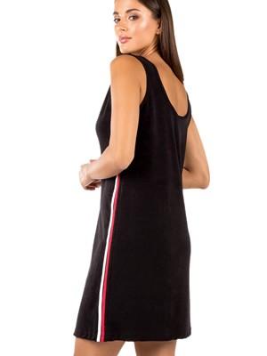 MINERVA Γυναικείο Φόρεμα Beachwear Frotte - Διπλές Ρίγες - Καλοκαίρι 2020
