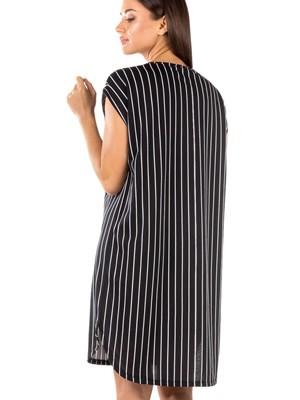 Γυναικείο Νυχτικό MINERVA Stripes - 100% Βαμβακερό - Νέα Μαμά - Smart Choice SS21