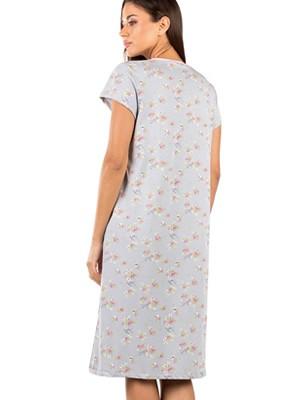 Γυναικείο Νυχτικό MINERVA Floral - 100% Βαμβακερό - Νέα Μαμά - Smart Choice SS21