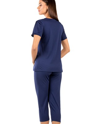 Γυναικεία Πυτζάμα MINERVA Loungwear - Απαλό Modal & Βαμβάκι - Σατέν - Smart Choice SS21